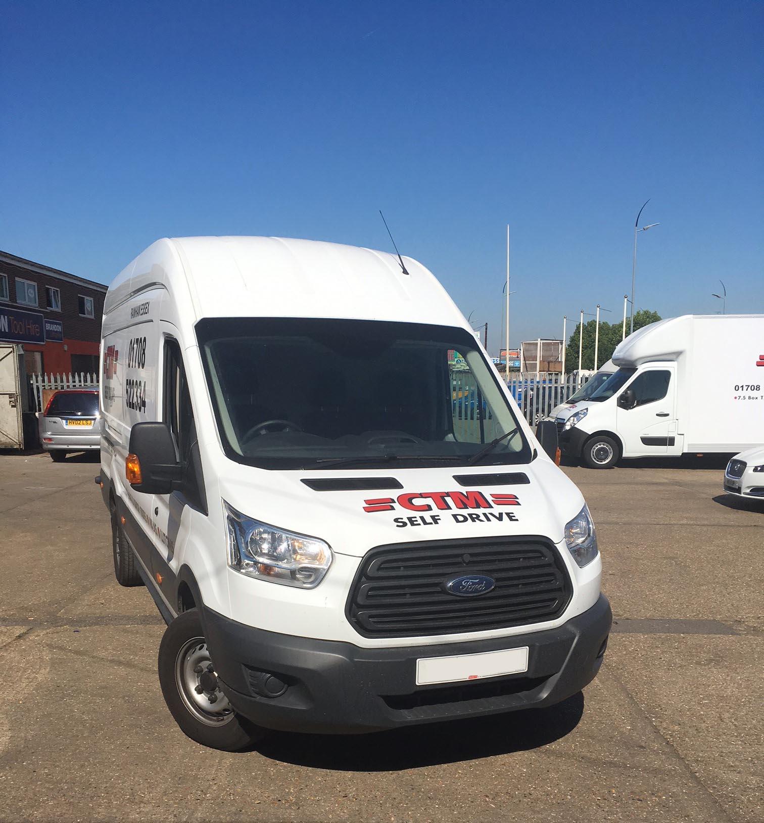 Commercial Vehicle Sales Essex | CTM Hire Ltd
